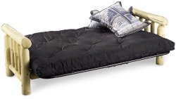 black Premier futon mattress