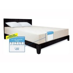 Serta 12 Inch Gel Foam 3-Layer Mattress