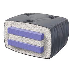 8 inch loft cotton microfiber futon mattress