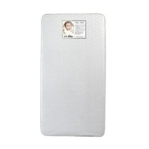 LA Baby memory foam crib mattress