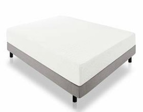 LUCID 12 Inch Triple Layer Memory Foam Mattress