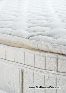 white pillow top mattress