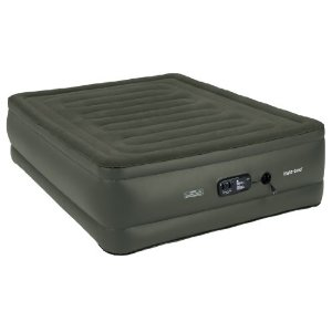 best air bed for long term use: Wenzel Insta-Bed Queen Raised Sure Grip Bottom with Built-in Pump