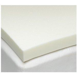 Sleep Joy 3 inch ViscO2 ventilated memory foam mattress topper